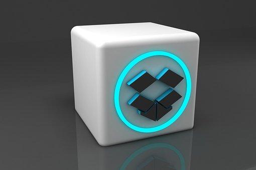 Dropbox 3d, 3d, Technology, Internet, Modeling