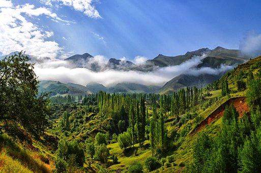 Fog, Nature, Landscape, Kaçkars, Landscapes Nature