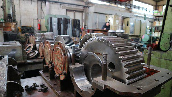 Grinder, Industry, Steel, Machine, Machinery