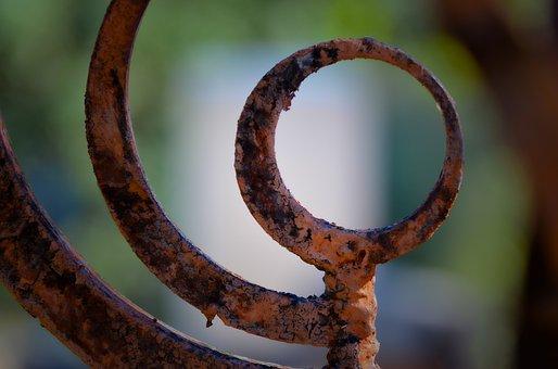 Rust, Rusty, Outdoors, Red, Metal, Steel, Sharp