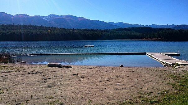 Water, Nature, Lake, Outdoors, Travel, Mountain, Dock