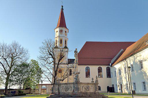 Austria, Braunau Am Inn, Parish Church Of Hl, Pankraz