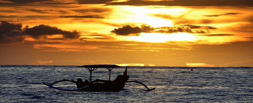 Boat, Sunset, Dusk, Philippine, Bangka, Outfitters