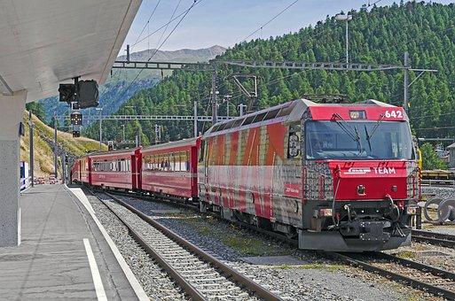 St Moritz, Hbf, Gateway, Regional Train