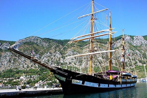 Tall, Ship, Sailing, Vessel, Rigged, Rigging, Sail