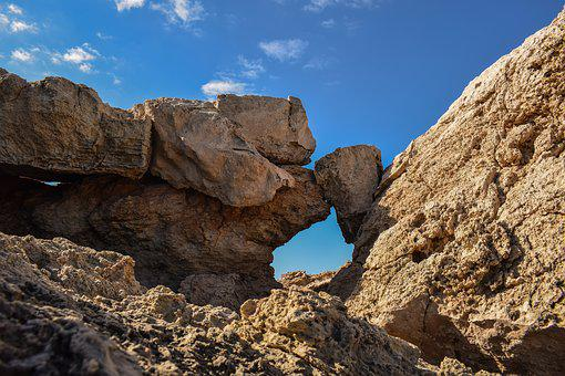 Nature, Rock, Formation, Sea, Erosion, Geology