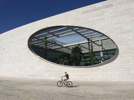 Sky, Architecture, Bike, Lisbon, Portugal
