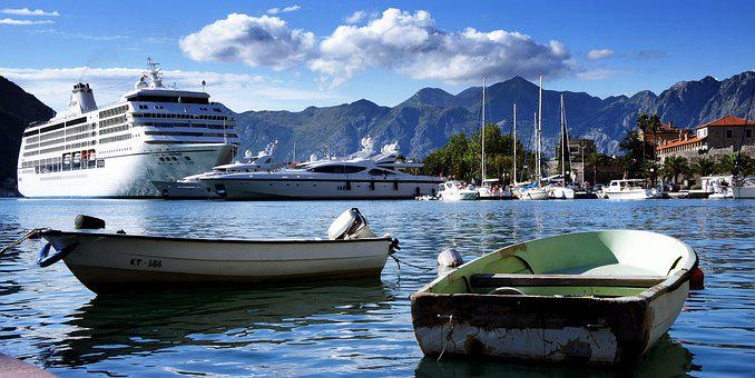 Harbour, Port, Boats, Boat, Cruise, Speedboat, Small