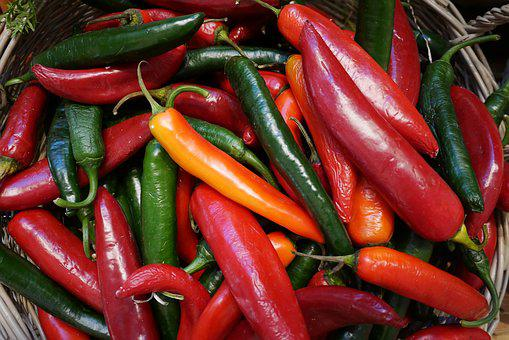Food, Chili, Vegetables, Paprika, Spice, Red Pepper