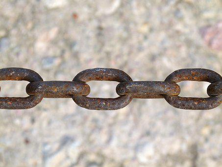 String, Oxide, Tie, Close, Lock, Security, Iron, Steel