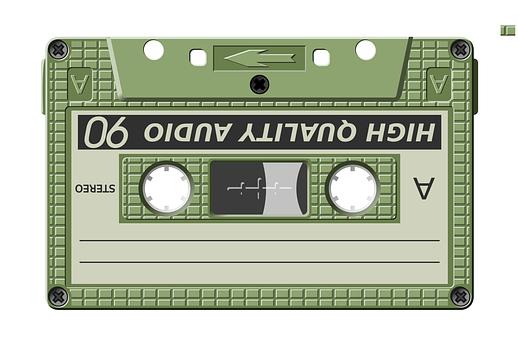 Cassette, Audio, Storage, Songs, Music, Sound, Tape