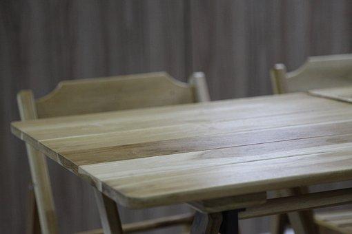 Literature, Table, Wood, Empty, Book Bindings