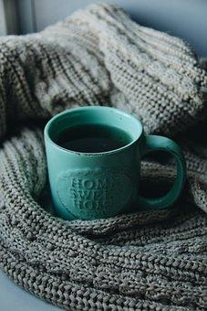Textile, Wool, Background, Fabric, Coldly, Krupnyj Plan