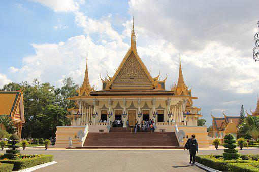 The Royal Palace Of Cambodia, Palace, Tourism