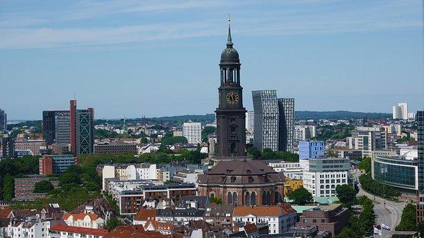 City, Architecture, Urban Landscape, Travel, Hamburg