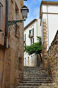 Architecture, Old, City, Alley, Home, Travel, Palma