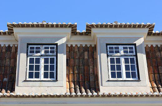 Portugal, Lisbon, Tiles, Architecture, Window, House