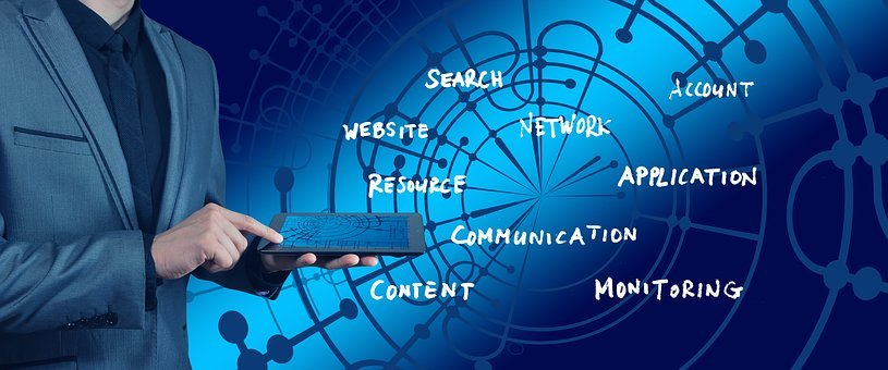 Hand, Businessman, Commercial, Search, Web Page