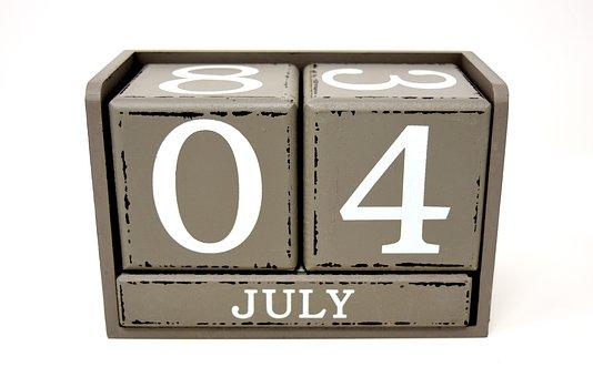July 4, Independence Day, America, Usa, Celebration
