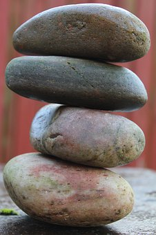 Zen, Stones, Pile, Stack, Column, Pillar, Meditation