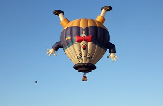 Humpty Dumpty, Hot-air Balloon, Balloon, Adventure