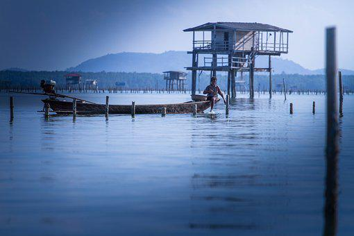 Fishing, Lifestyle, Outdoor, Fisherman, Thailand, Life