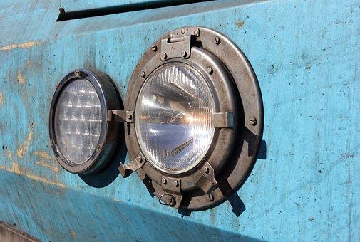 Portugal, Faro, Train, Headlight, Locomotive, Light