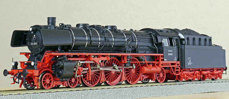 Steam Locomotive, Model, Scale H0, Br03, Br 03-10