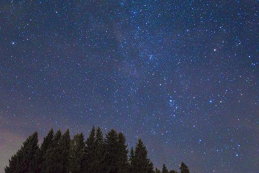 Astronomy, Sky, Moon, Galaxy, Space, Nature, Remote