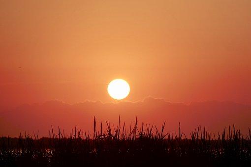 Sunset, Dawn, Sun, Dusk, Nature, Evening, Sky