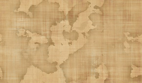Map, Background, Parchment, Seamless, Old, Flat