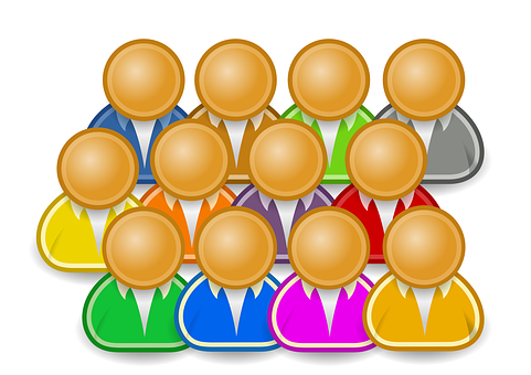 Icon, Person, Group, People, Together, Many, Community