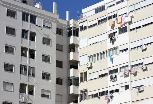 Portugal, Architecture, Apartment, Outdoors, Balcony