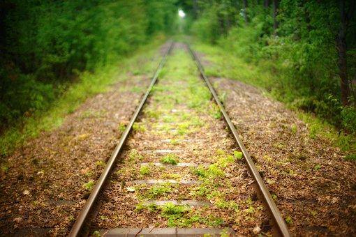 Railway Line, Railway, Travel, Seemed, Away, Traffic