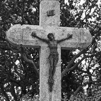 Cemetery, Cross, Religion, Spirituality, Divinity