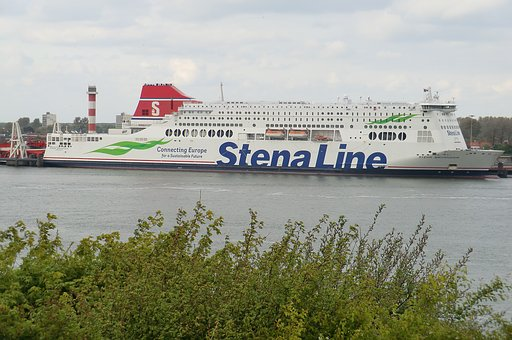 Transport, Sea, River, Stenaline, Hoek Van Holland