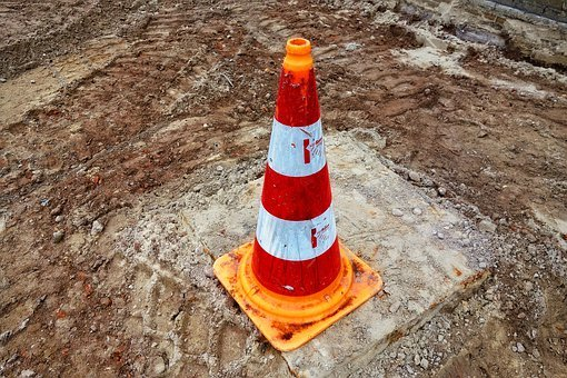 Traffic Cone, Pylon, Witches' Hat, Road Cone