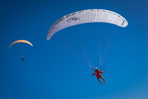 Paraglider, Fly, Air, Sky, Paragliding, Sport