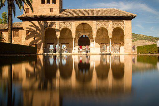 Granada, Alhambra, The Partal, Monuments, Spain