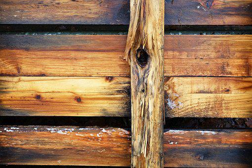 Wood, Plank, Beam, Grain, Knot, Blonde Wood, Texture