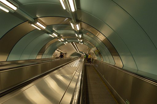 Metro, The Transportation System, Escalator, Tunnel