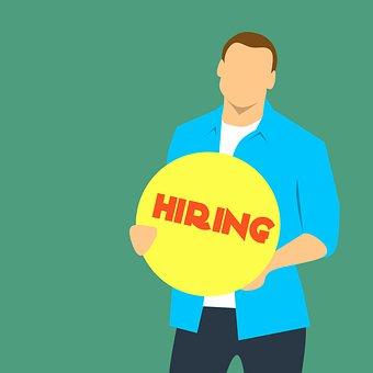 Vacancy, Hiring, Help, Wanted, Sign, Recruitment