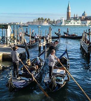 Transport System, Ship, Waters, Human, Travel, Gondola