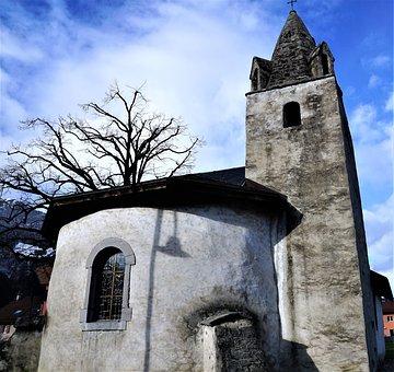 Church, Religion, Architecture, Sky, Travel, Cross