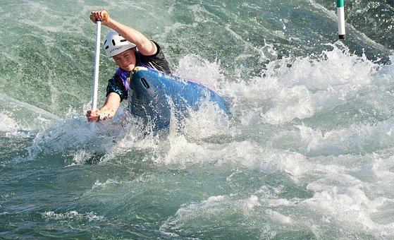 Water Sports, Canoe-kayak, Paddle, River