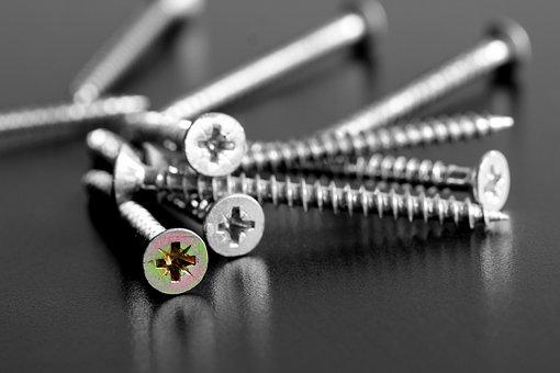 Screw, Tool, Repair, Close, Work, Craft, Metal