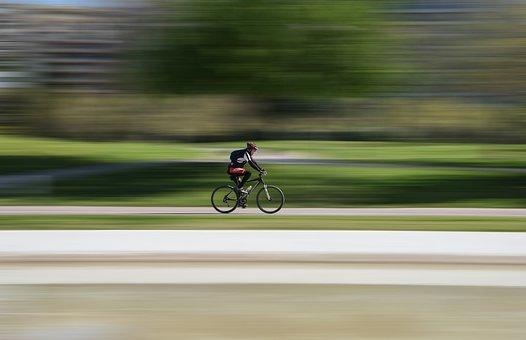 Race, Cyclist, Bike, Hurry, Action