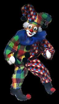 Eulenspiegel, Clown, Carnival, Doll, Figure, Funny