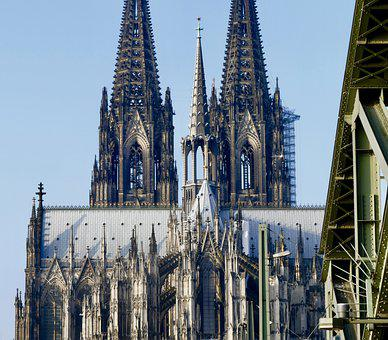 Cathedral, Gothic Language, Architecture, Church