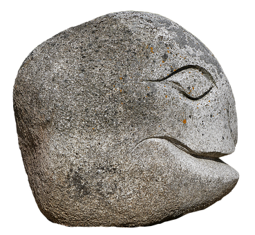 Face, Head, Granite, Steinkopf, Gnome, Figure
